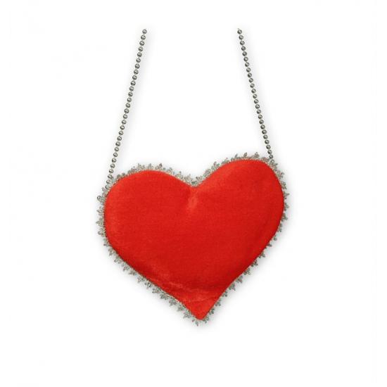 Rode hart heuptasje