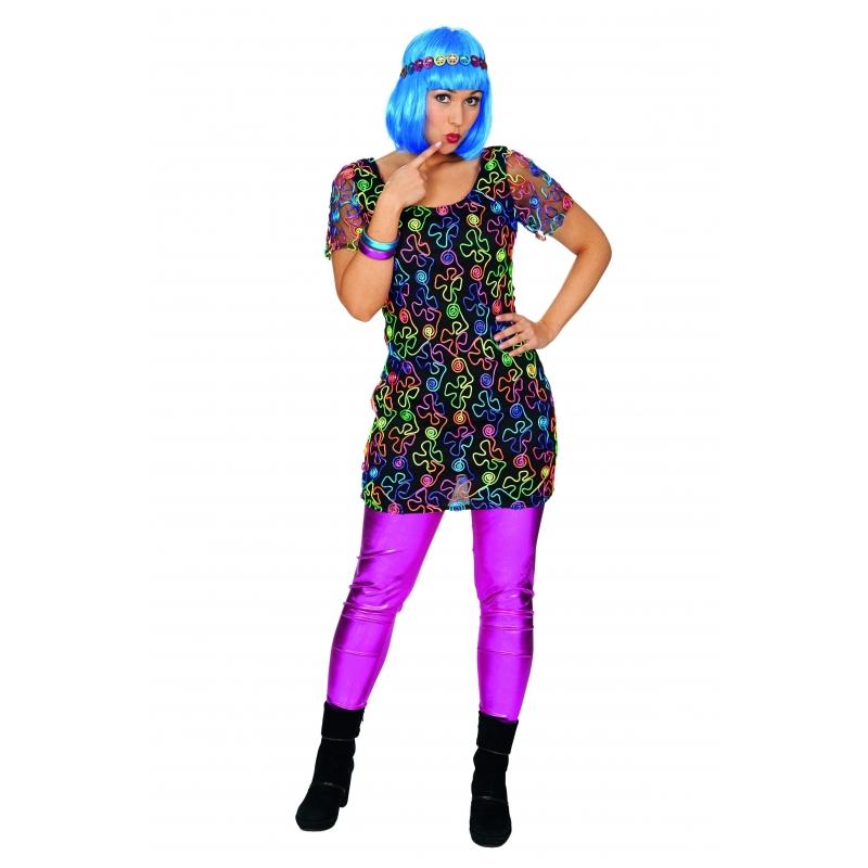 Hippie jurk voor dames bij Fun en Feest Belgi