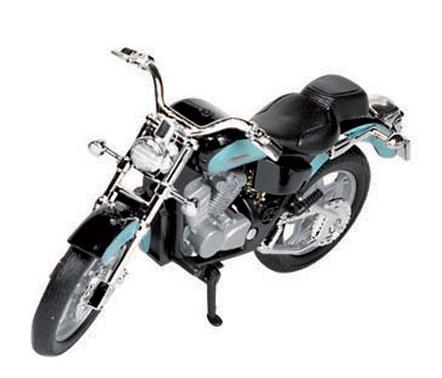 Model speelgoed motor Honda Shadow 1:18