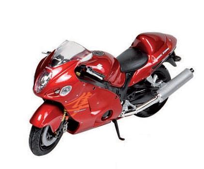 Model speelgoed motor Suzuki 1:18